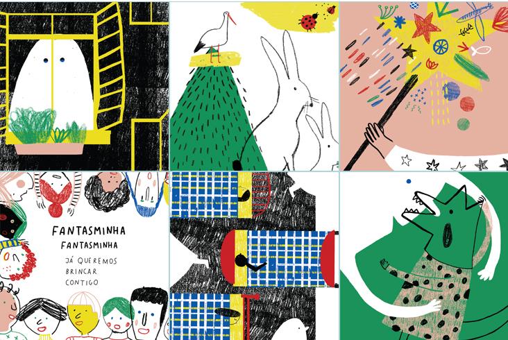 Kinderbuch de Manuela C. Neves – Um Fantasminha no Jardim