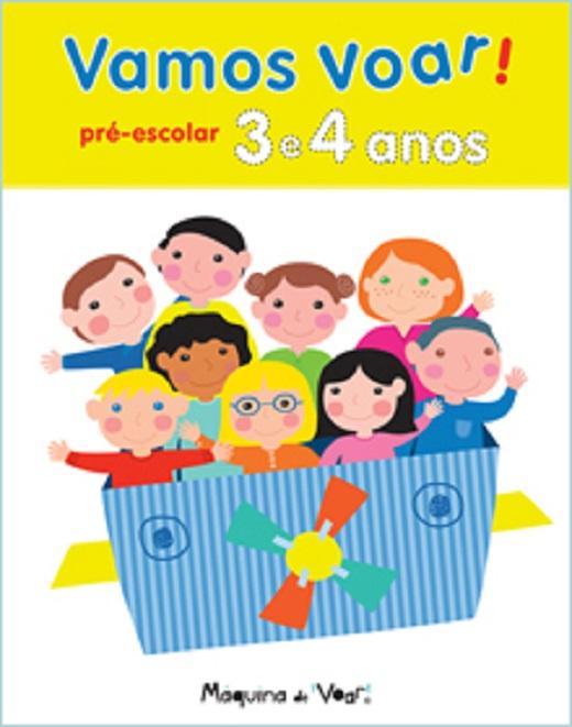 Arbeitsblätter Portugiesisch - Vamos voar! 3- 4 Jahren - Ola Livro
