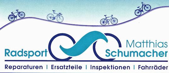 Radsport Matthias Schumacher, Fahrradpavillon an der Gedächtniskirche, 67346 Speyer unterstützt den Flugplatzlauf Speyer
