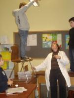 Junge Forscher in Aktion
