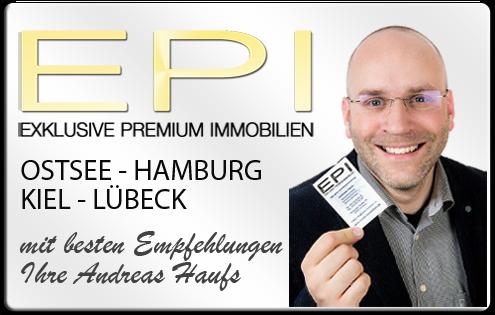 IMMOBILIENMAKLER HAMBURG  OSTSEE KIEL LÜBECK ANDREAS HAUFS - EPI IMMOBILIEN IMMOBILIENAGETUR DPI