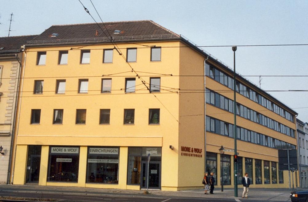 Straßenansicht Friedrich-Ebert-Straße