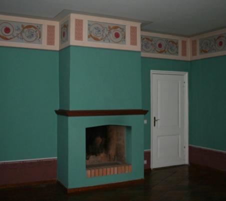 Kaminzimmer im Obergeschoss