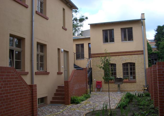 Gartenhaus im Hof