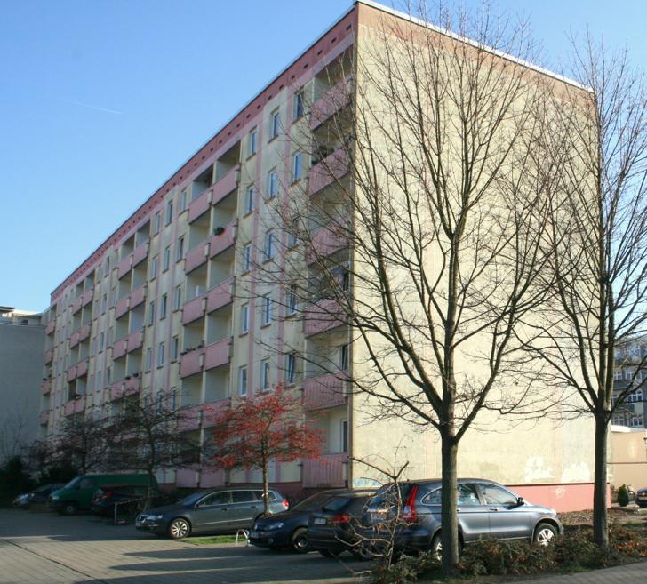 Hofseite Parkplatz