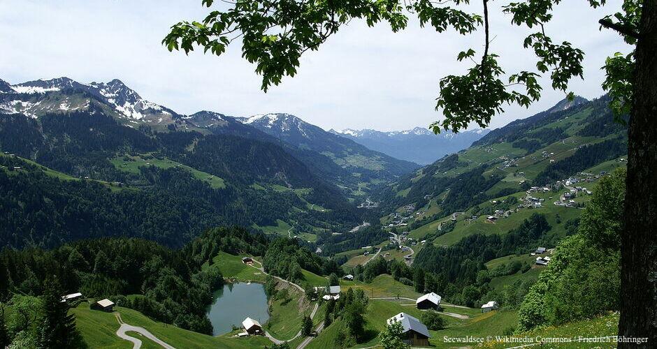 Seewaldsee, Bergsee Großes Walsertal, Bergsee Vorarlberg, Schönster Bergsee im Großen Walsertal, Bergsee Biosphärenpark, Alpenregion Bludenz Bergsee, Vorarlberger Oberland Bergsee, Badesee Walsertal, Bergbadesee Vorarlberg, Bergsee Liechtenstein, Arlberg