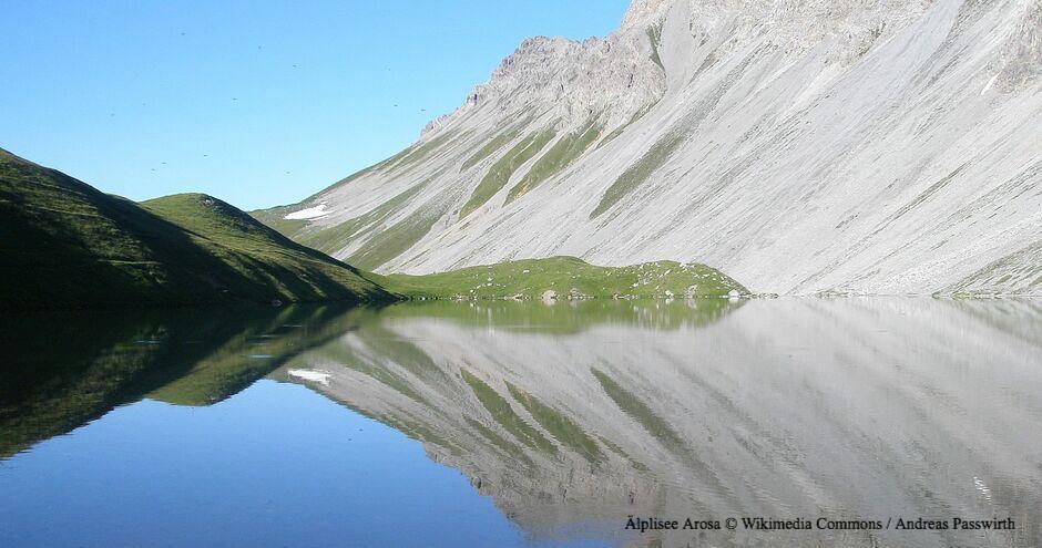 Älplisee, Bergsee Arosa, Hochgebirgssee Arosa, Gebirgssee Arosa, Arosa Gewässer, Hochgebirgsgewässer Arosa, Höchstgelegenste Seen Graubündens, Hochgelegene Seen Schweiz, Hochgelegene Seen Graubünden, glasklares Wasser Graubünden, Bündner Seen