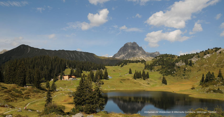 Körbersee, Hochtannberg, Arlberg, Bregenzerwald, Vorarlberg, Bergsee, Fotospots, Tipps, Juwele
