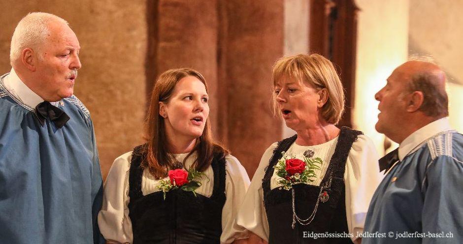 Brauchtum in der Schweiz - 31. Eidgenössisches Jodlerfest 2021 in Basel