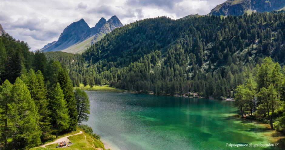 Palpuognasee, Schönster See Graubündens, schönste Seen Graubündens, Bergsee Graubünden, Bergseen Graubünden, Badesee, Badeseen, Graubünden, Bündner Seen, Grüner See Graubünden, Blautürkiser See Schweiz, Schönste Seen der Schweiz