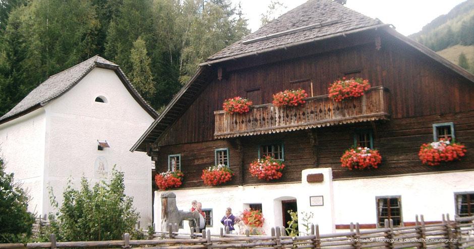 Freilichtmuseum Lungau, Salzburgerland, Open Ari Museum, Zederhaus, Denkmalhof Mauerhof, Themenweg, Mühlenweg, Open Air Museum Austria