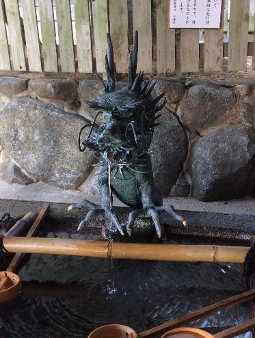 石切神社 御神水(筆者撮影)