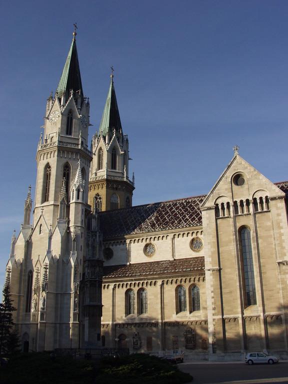 Blick vom Stiftshof