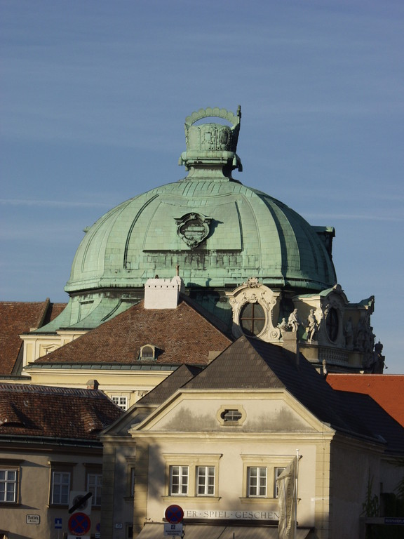 Klosterneuburg Abbey, dome