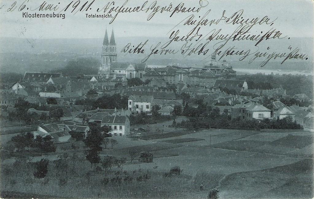 Klosterneuburg im Jahre 1911