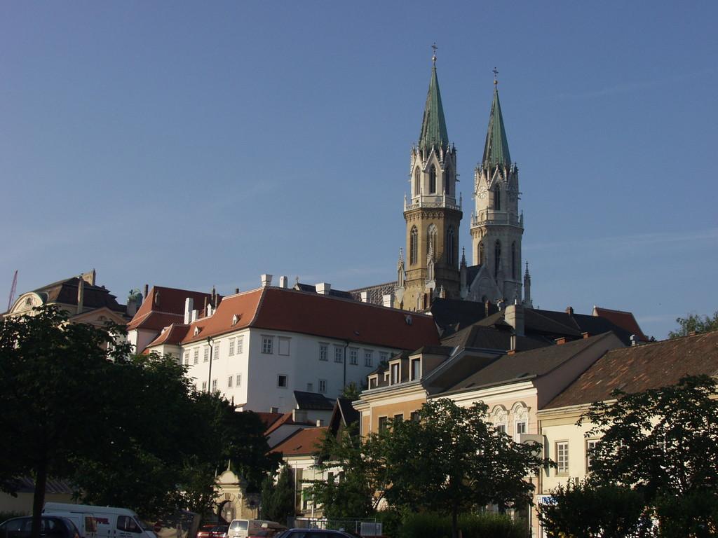 Klosterneuburg Abbey, view from Niedermarkt