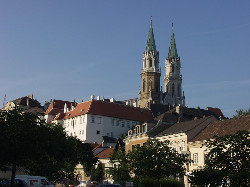 Klosterneuburg Abbey, view from Niedermarkt