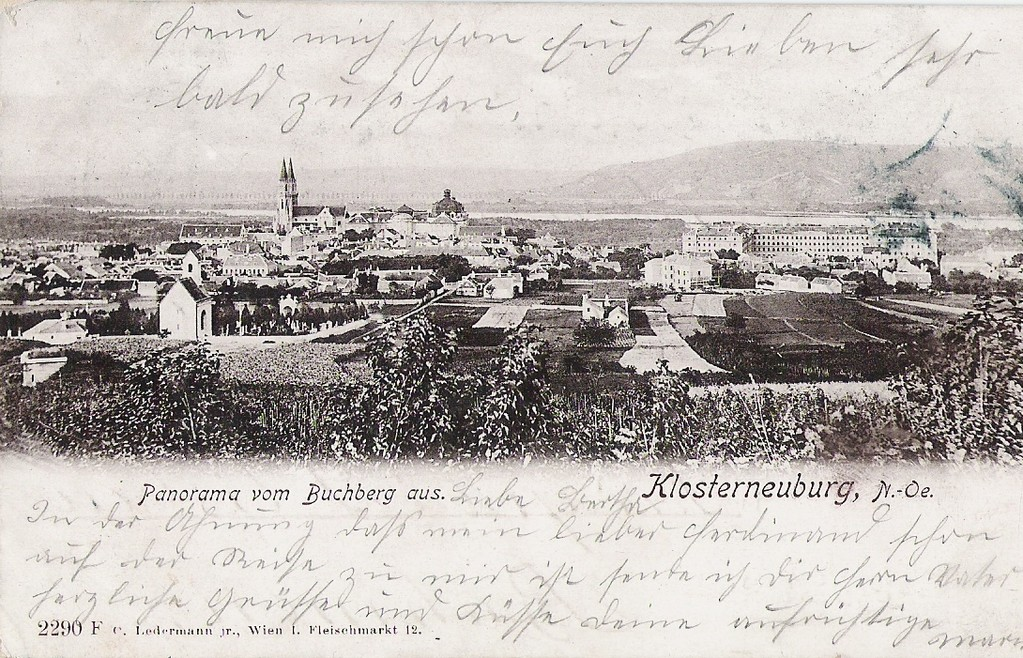 Alte Ansicht der Stadt