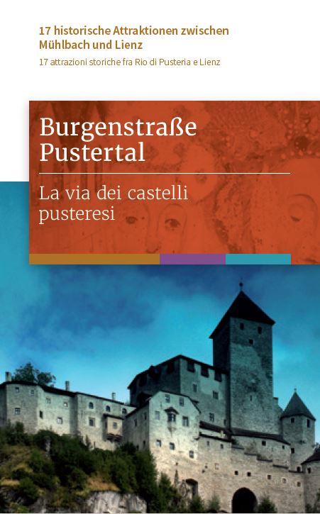 Burgenstraße Pustertal Cover 2017