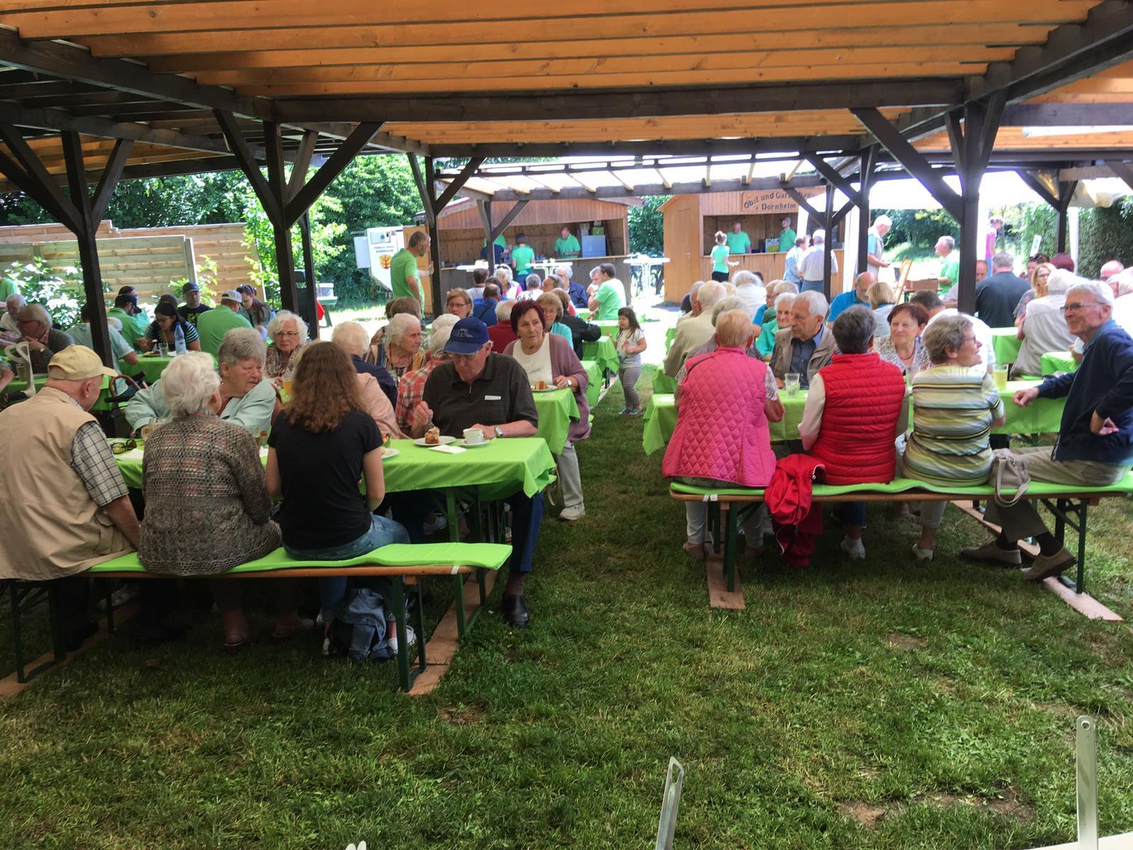 Unser Grillfest 2019 lockt wieder viele Dornheimer und auswärtige Besucher an