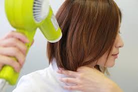 髪の乾かし方