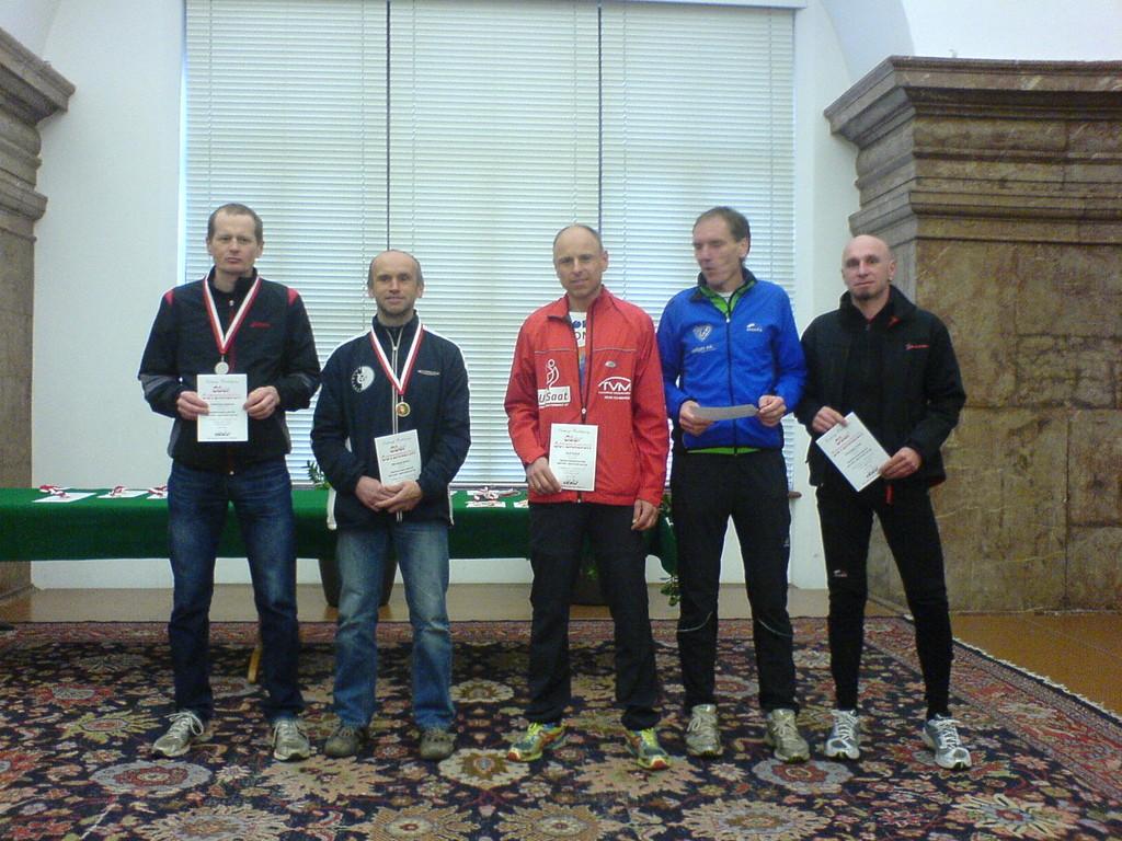Siegerehrung Linz Marathon