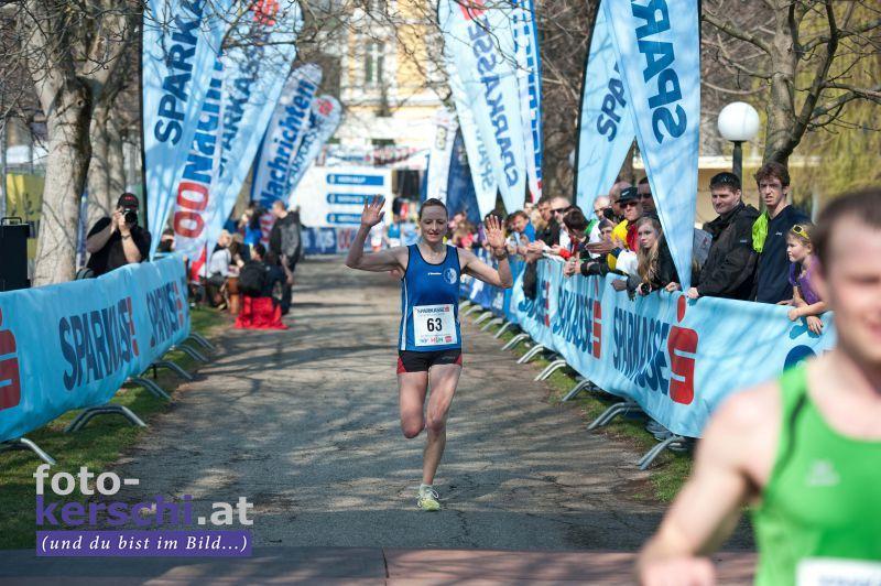 Bernadette wird Landesmeisterin im Halbmarathon