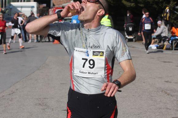 unglaubliche 89,45 km hat Muhari am Ende auf seinem Konto (Rang 1)