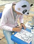 似顔絵師として茨城 栃木 千葉のイベントで活躍中