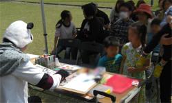 群馬県に似顔絵師が出張イベント
