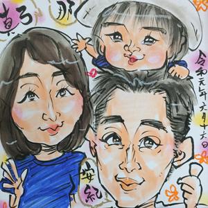 埼玉県川越市の似顔絵イベント