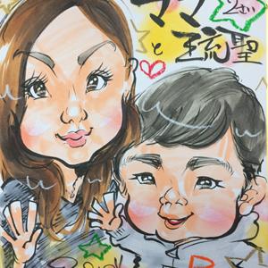千葉県市原市の似顔絵イベント