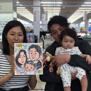 千葉県へ似顔絵師を派遣