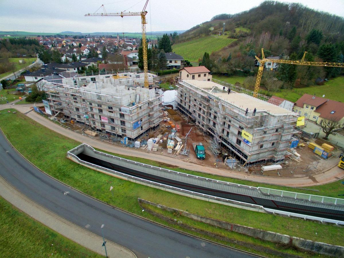 Überwachung von Bauprojekten