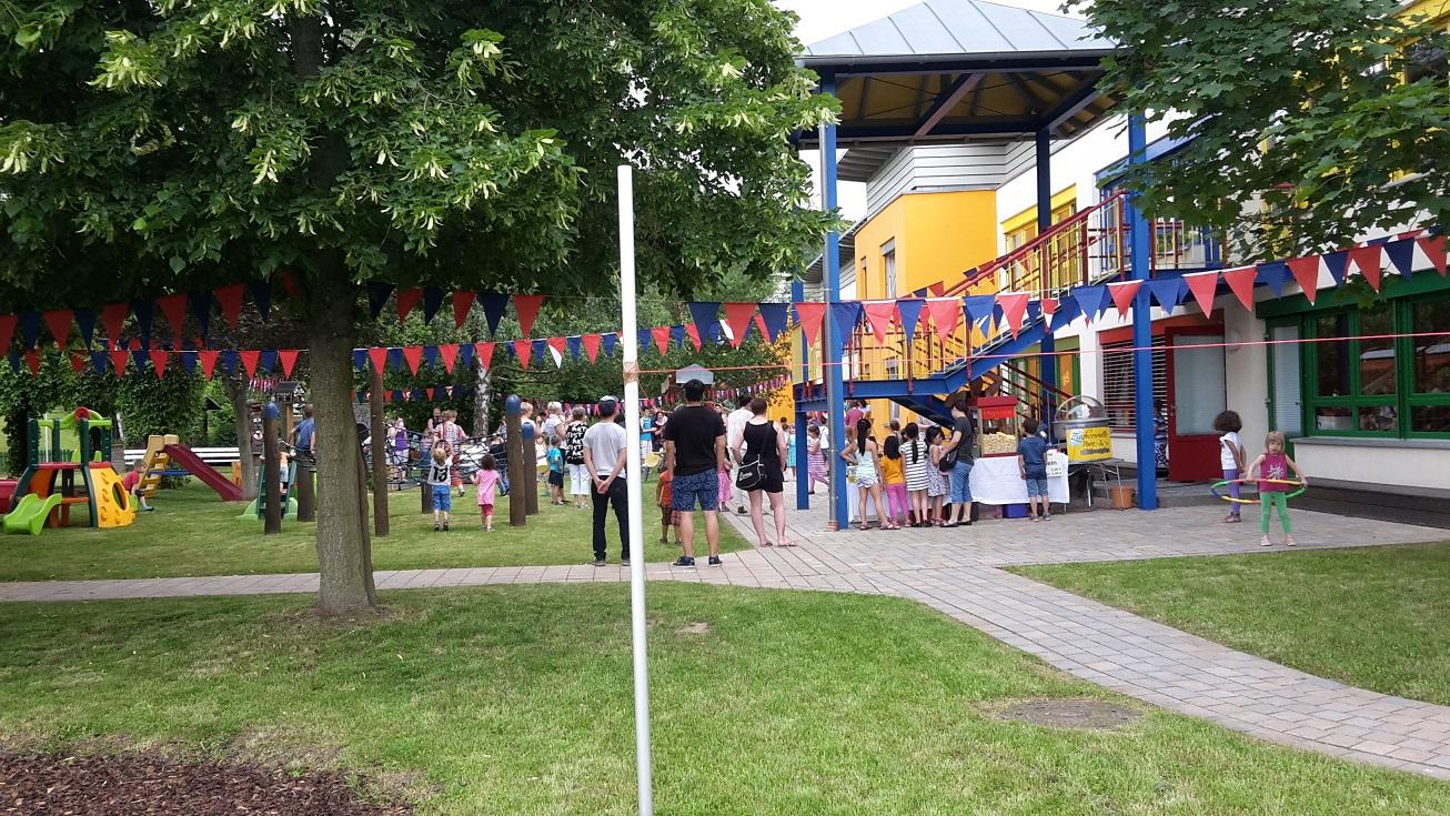 Kinderfest 2016 im Kindergarten Bambino am Fliederweg
