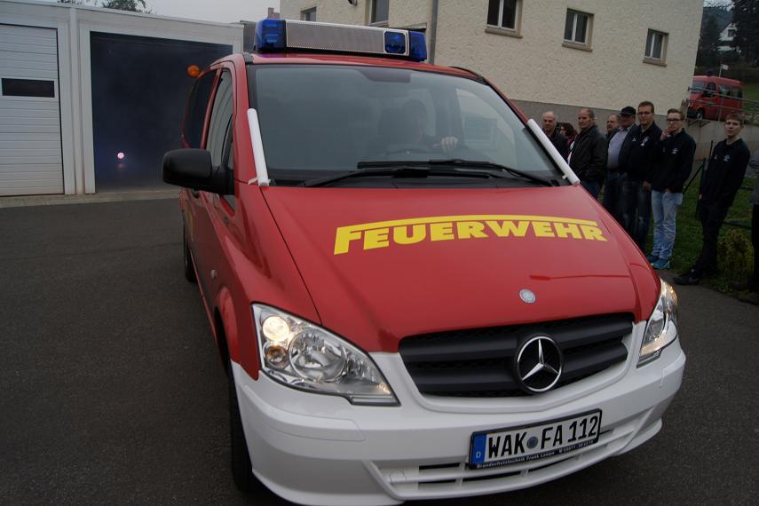 """Einweihung der """"neuen"""" 19 im April 2014 Da kommt er / """"Der Neue!"""""""