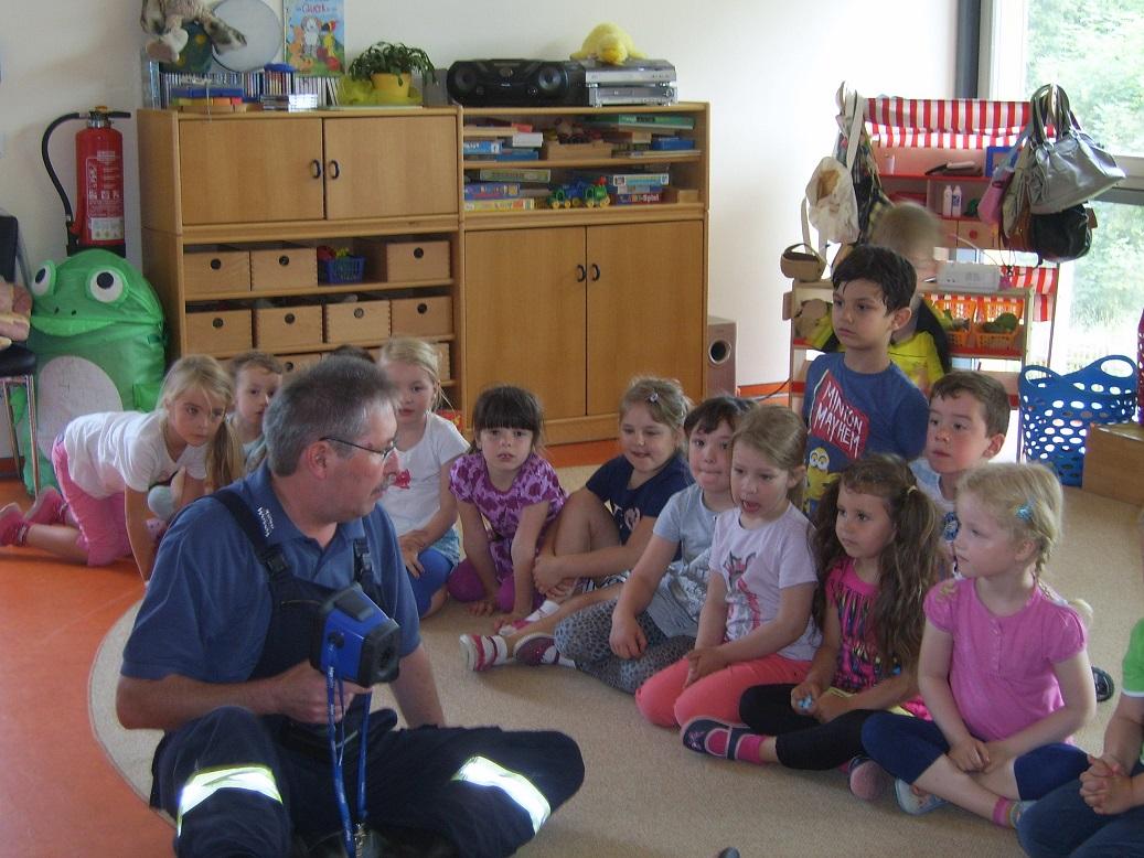 Kindergarten Bertold Anzius Brandschutzerziehung