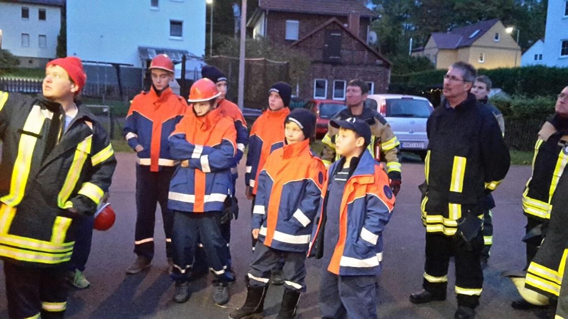 Am 04.11.16 hatten wir den Rüstwagen der Feuerwehr Ruhla zu Gast um die darauf verlasteten Geräte und deren Handhabung zu üben!