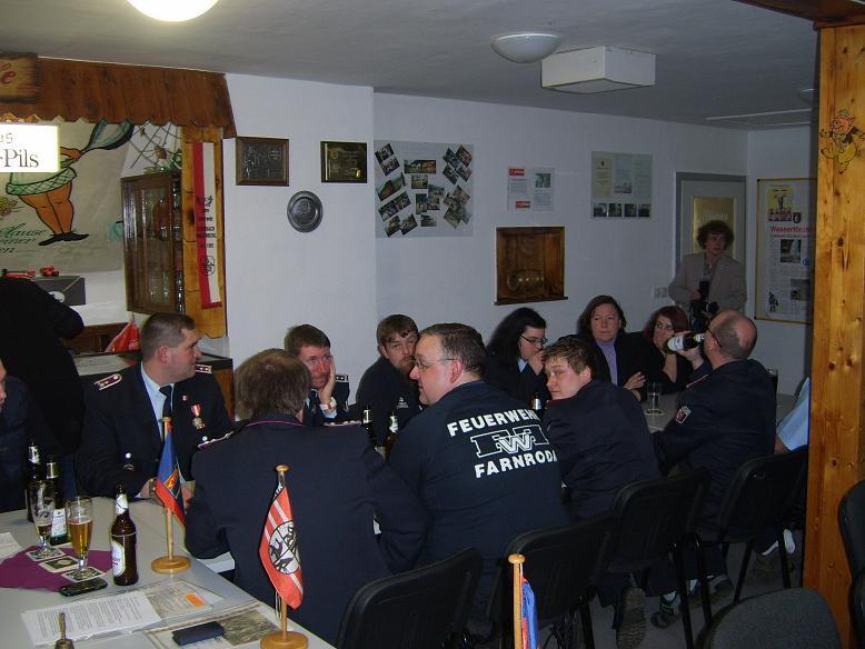 Unsere Hauptversammlung war gut besucht und zahlreiche Gäste gaben uns die Ehre,