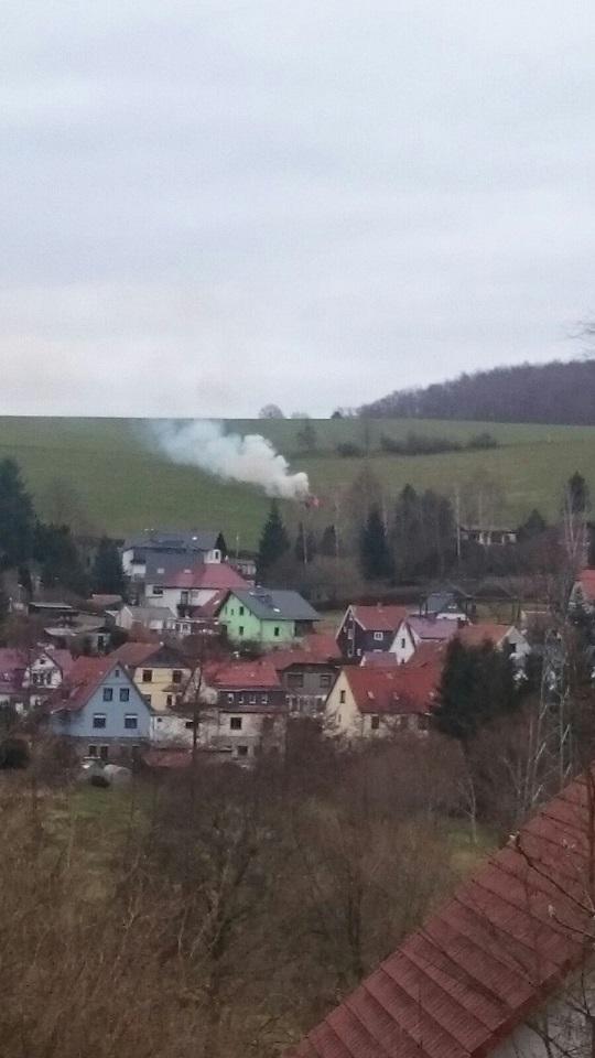 """Rauchzeichen der Jugendfeuerwehr sind auf der anderen Bergseite bei """"Kurt"""" angekommen!"""