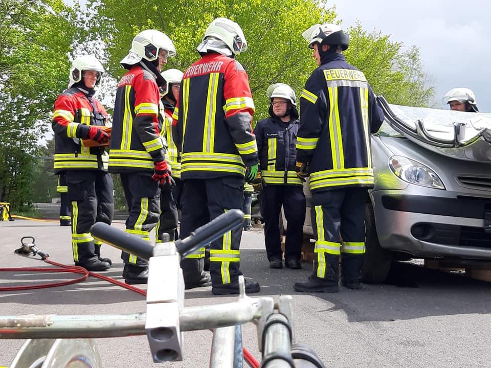04.05.19 Übung in Wichmannshausen