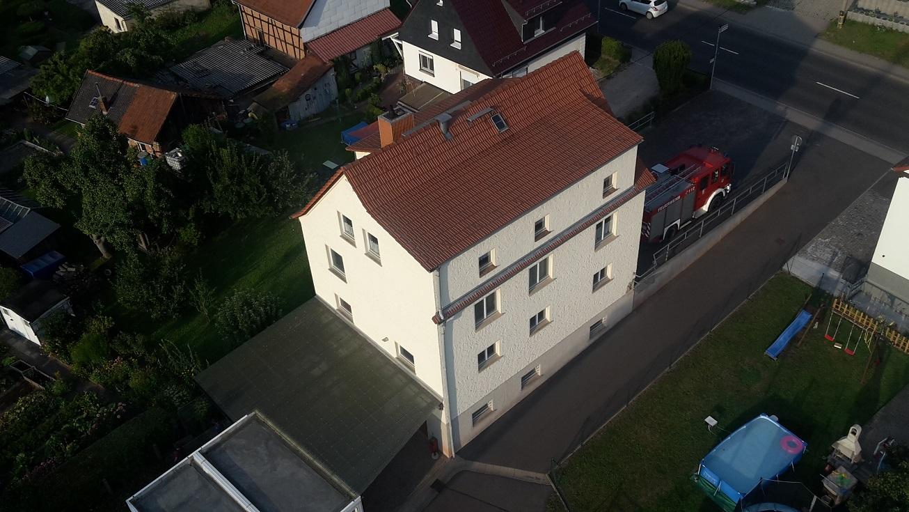 Feuerwehrhaus von oben!