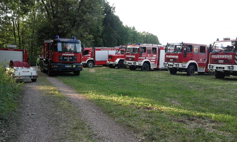 Am 07.07.2019 sind wir zusammen mit den anderen Ortsfeuerwehren, sowie den Feuerwehren aus Ruhla und Seebach, zu einer unklaren Rauchentwicklung nach Mosbach alarmiert wurden.
