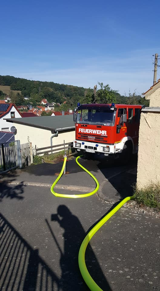 Am 15.09.2019sind wir zu einem unklaren Feuerschein alarmiert wurden.