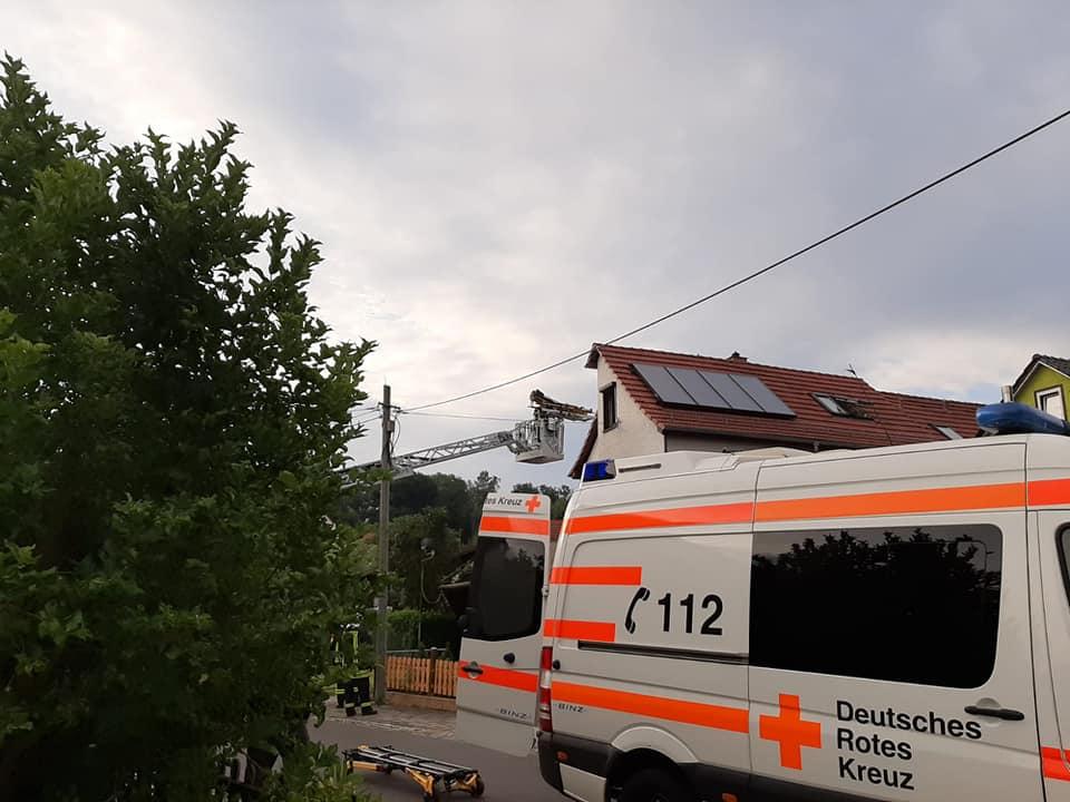 Am 05.08.2019 sind Wir, zusammen mit der Drehleiter der Feuerwehr Ruhla, zur Unterstützung des Rettungsdienstes, zu einer Tragehilfe alarmiert wurden.