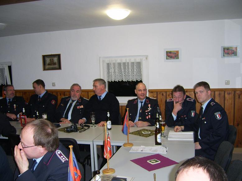 Kreisverbandsvorsitzender Joachim Jaretzki und unser Ortsbrandmeister Jens Böse gehörten genau so dazu wie der Kreisbandmeister Frank Engel.