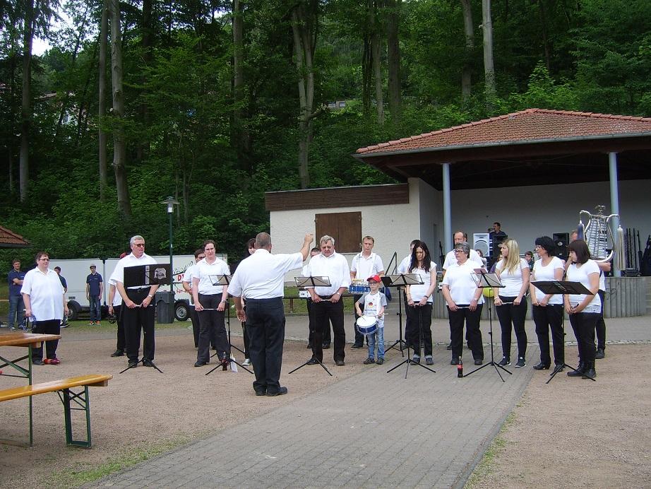 Unsere Partnerfeuerwehr aus Sontra / Wichmannshausen gab uns auch die Ehre...