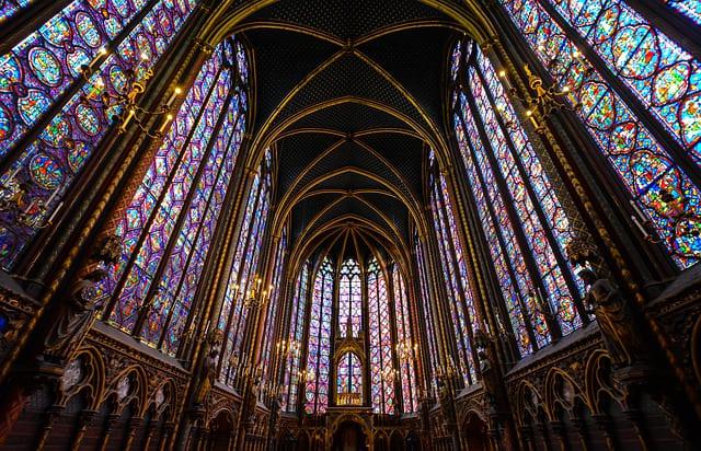 Sainte-Chapelle Paris Buntglasfenster