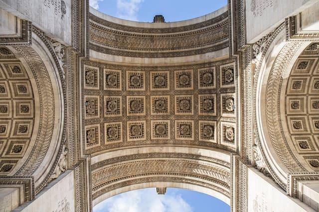 Triumphbogen Paris Bilder