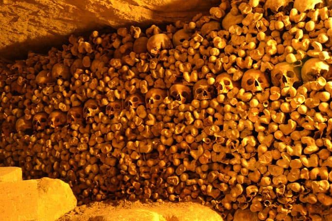 Katakomben Schädel